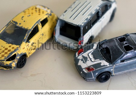Broken Car Toy Old Toy Car Stock Photo Edit Now 1153223809
