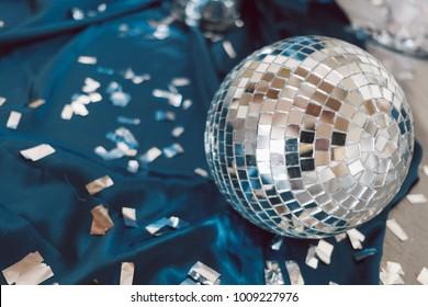 Broken disco ball.