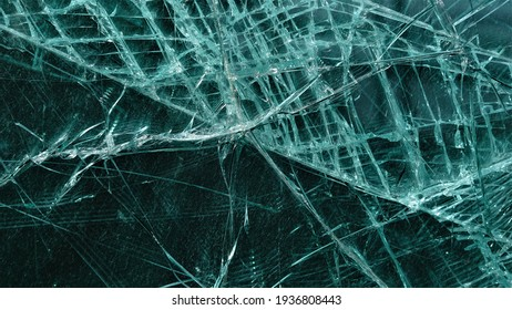 broken glass texture as background