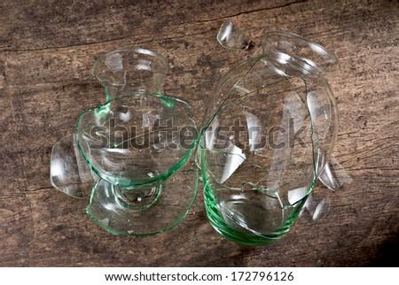 Broken Glass Vase Stock Photo Edit Now 172796126 Shutterstock