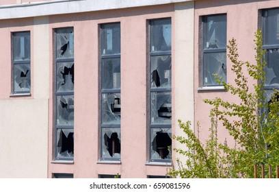 ventana modelo bow window