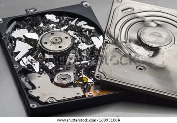 Broken hard disk