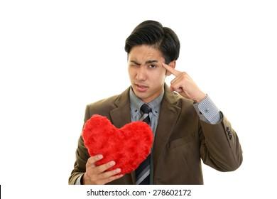 A broken hearted man