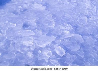 broken ice pattern
