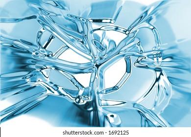 broken ice texture