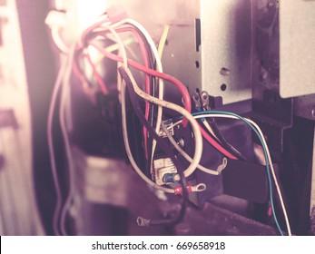 Broken Industrial Air Conditioner