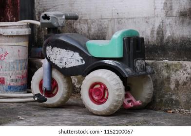 Broken Kids Tricycle