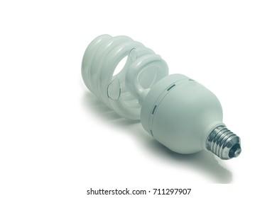 Broken led bulb