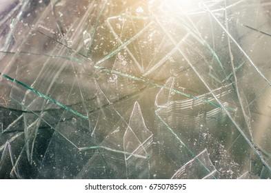 broken mirror, broken shattered background.