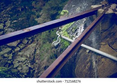 Broken Platform - Cataract Gorge - Launceston, Tasmania, Australia
