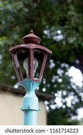 Broken Road lamp light