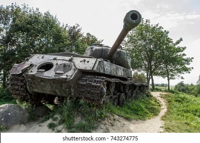 Broken Soviet tank