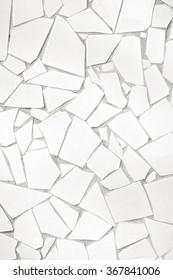 Broken tiles seamless pattern / Tiles on wall / Tiles background