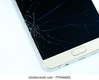 Broken Touch Screen Smartphone