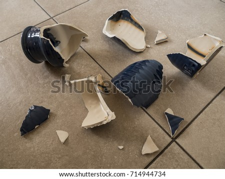 Broken Vase Stock Photo Edit Now 714944734 Shutterstock
