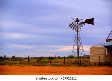Broken Windmill at Silverton