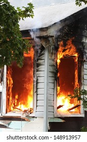 Broken windows are a flash point for house fires