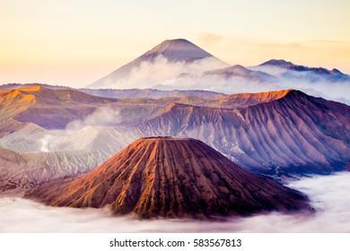 bromo mountain.