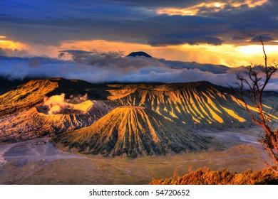 Bromo Tengger Semeru national park. Java. Indonesia
