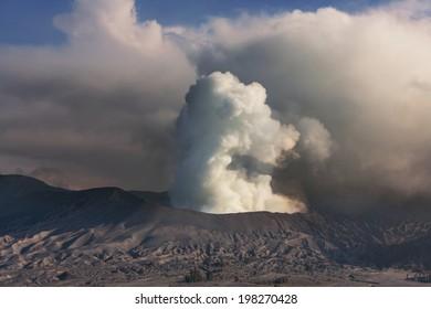 Bromo Volcano at  Java, Indonesia