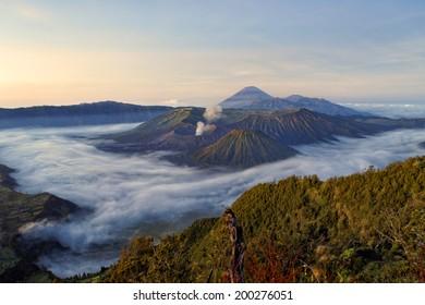 Bromo volcano, Java,Indonesia