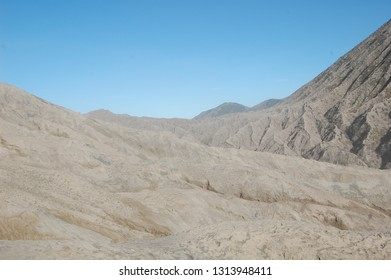 BROMO/JAVA/INDONESIA-MAY 2012: Discovering the arid landscape of Bromo