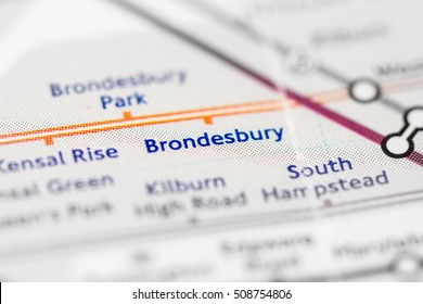 Brondesbury Station. London Overground. London. UK.