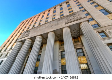 Bronx County Courthouse, also known as the Mario Merola Building, is a historic courthouse building located in the Concourse and Melrose neighborhoods of the Bronx in New York City.