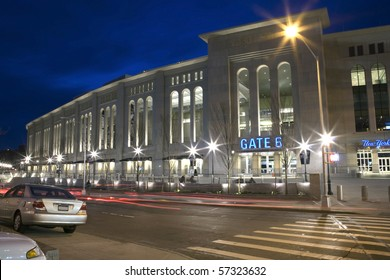 BRONX, NY - APRIL 20: Newly constructed Yankee Stadium on April 20, 2009 in Bronx, NY.