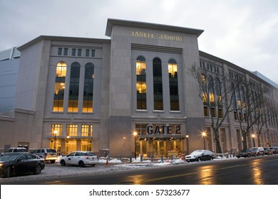BRONX, NY - APRIL 20: Newly constructed Yankee Stadium April 20, 2009 in the county of the Bronx, NY.