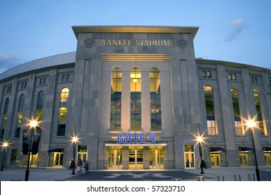 BRONX, NY - APRIL 20: Newly constructed Yankee Stadium on April 20, 2009 in the county of the Bronx, NY.