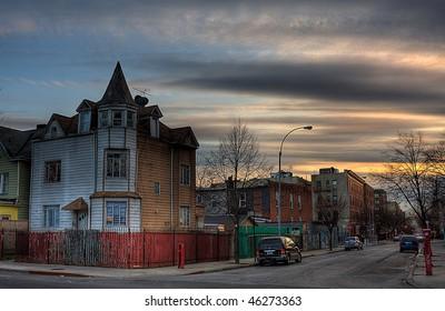 Bronx street, NY