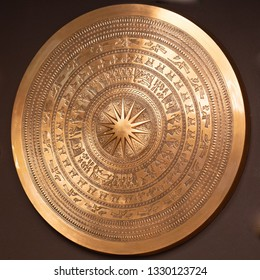 bronze plate cymbols