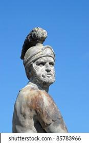 Bronze Roman Warrior Statue
