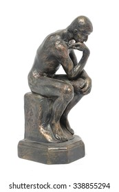 bronze sculpture thinker