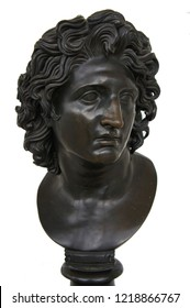 Bronze statue or bust of Alexander the Great