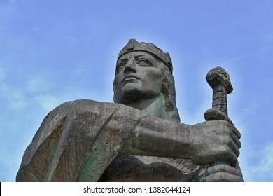 Bronze statue of Prince Pribina. A bronze statue of Prince Pribina, first known Slovak ruler in our region.