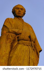 Bronze Statue of Ryoma Sakamoto at Katsurahama