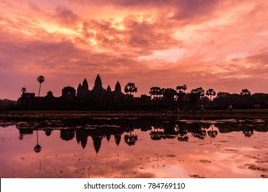 The bronze sunrise of angkor wat