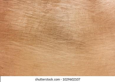 bronze texture, color stripped metal sheet gloss