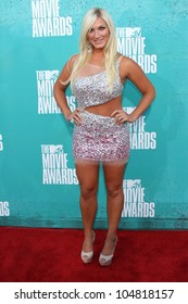 Brooke Hogan at the 2012 MTV Movie Awards Arrivals, Gibson Amphitheater, Universal City, CA 06-03-12