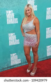 Brooke Hogan at the 2012 MTV Movie Awards at Universal Studios, Hollywood. June 4, 2012  Los Angeles, CA Picture: Paul Smith / Featureflash
