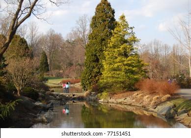 Brookeside Garden in Maryland