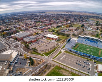Brookings, South Dakota, USA 10-28-18 South Dakota State University is a College of Higher Learning in Eastern South Dakota located in the rural Town of Brookings