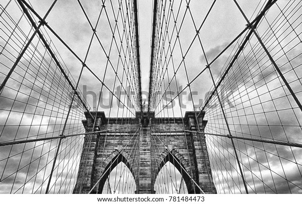 Brooklyn Bridge Black & White
