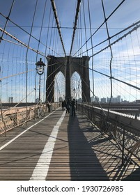 Brooklyn Bridge during my stay in the US in 2017