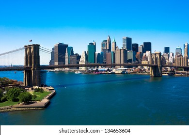 Ponte di Brooklyn e Manhattan, New York City