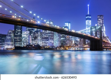 Brooklyn Bridge in New York, Amerika