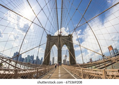 Brooklyn Bridge, New York City, U.S.