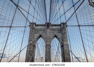 The Brooklyn Bridge - New York, USA